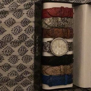 Watch with multiple bands